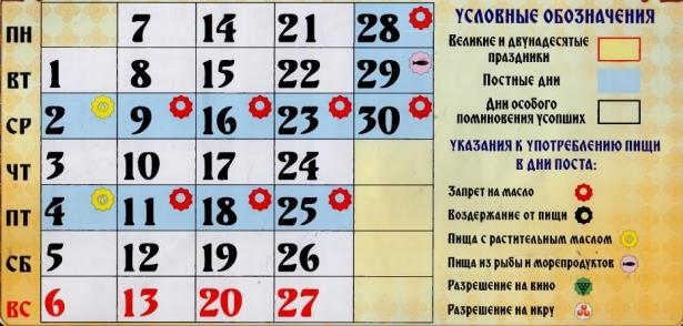 православные праздники в ноябре 2016