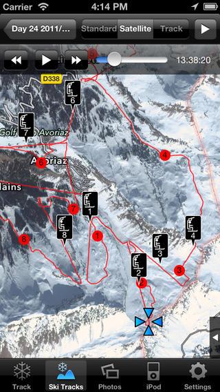 Топ 5 мобильных приложений для сноубордисток и лыжниц - фото №3