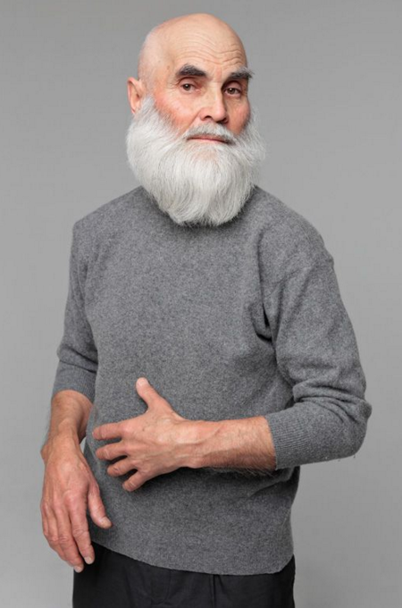 дедушка-хипстер модель