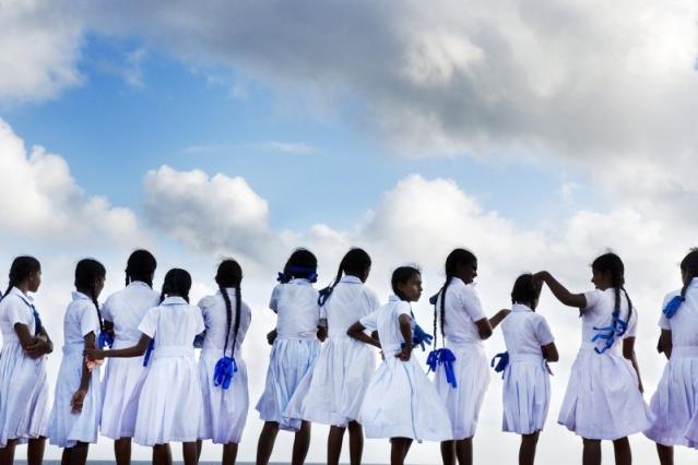 Самая красивая школьная форма в разных странах мира     Школьная форма Шри-Ланка