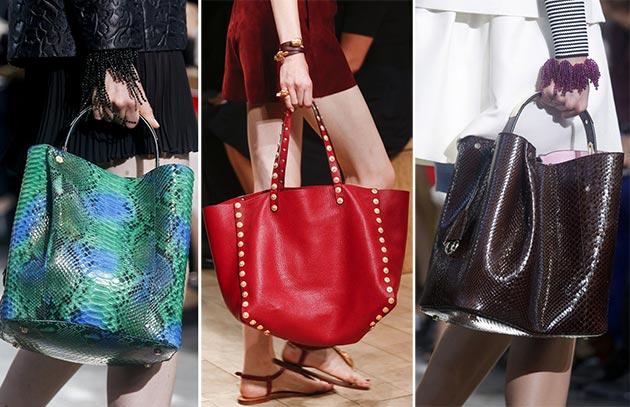 Модные сумки сезона весна-лето 2014 - фото №6