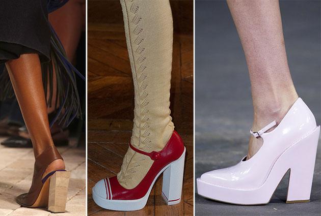 Модная обувь сезона весна-лето 2014: туфли - фото №5