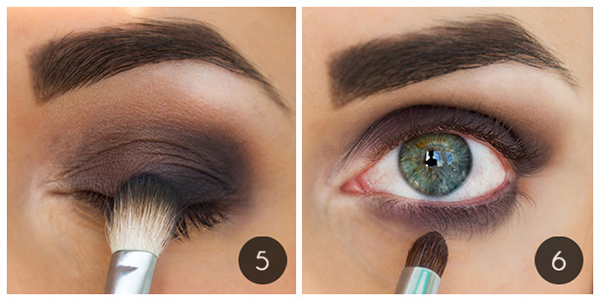 Как сделать модные осенние smoky eyes: пошаговый урок - фото №5