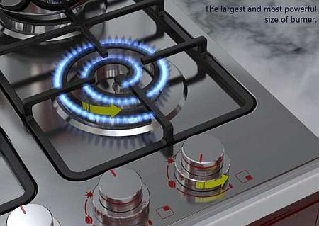 Революционный дизайн газовых плит - фото №1