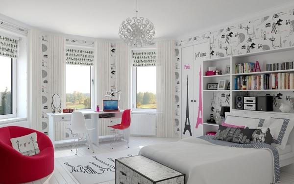 декор комнаты для девочки-подростка