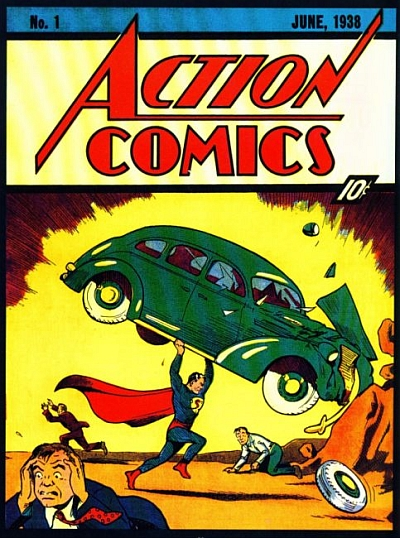 Десятицентовый комикс о Супермене продан за $2,16 млн. - фото №2