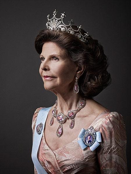 королева швеции сильвия фото