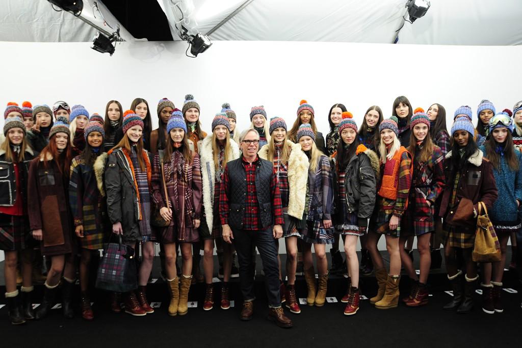 Неделя моды в Нью-Йорке: Tommy Hilfiger осень-зима 2014-2015 - фото №1