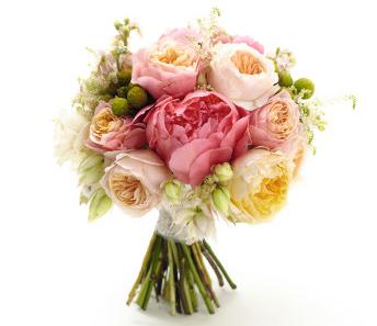 Стильные свадебные букеты: тренды 2014 года - фото №1