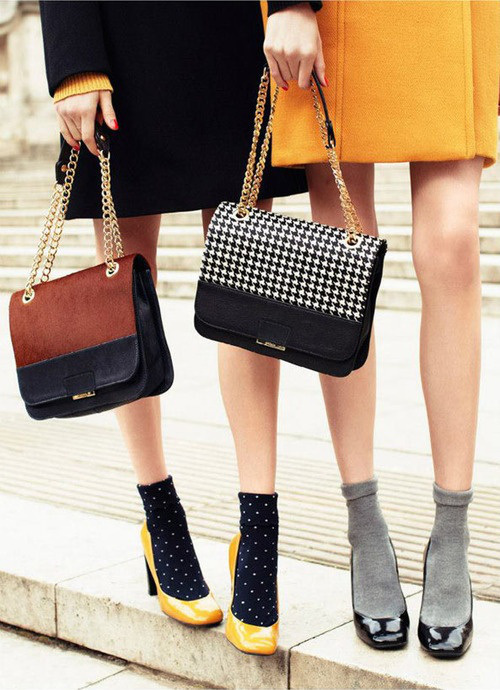 Тренд сезона весна-лето 2014: сочетаем носки и обувь - фото №36