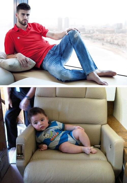 Шакира, Жерар Пике и их сын отдыхают на Гавайях - фото №1