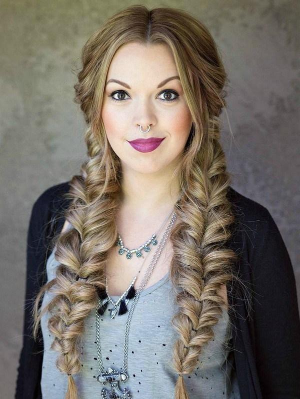 """Как плести косу """"рыбий хвост"""": учимся делать стильное плетение на все случаи жизни - фото №7"""