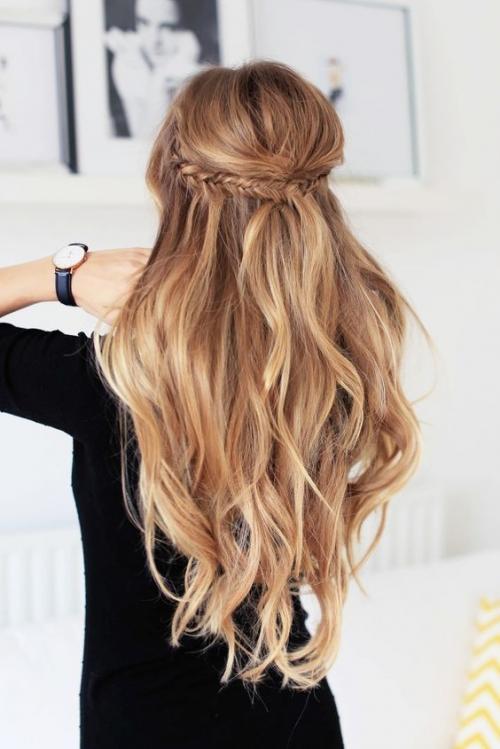 Какую прическу сделать на последний звонок: лучшие прически на длинные и средние волосы (ФОТО) - фото №40