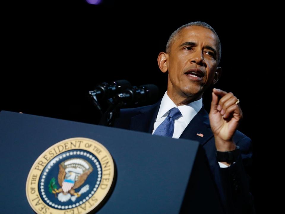 25 лучших лет любви к Мишель: Барак Обама прослезился во время прощальной речи – перевод трогательных слов президента - фото №1