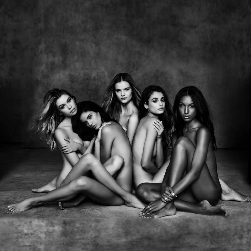 Первые снимки из фотосессии новых ангелов Victoria`s Secret
