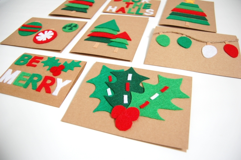 Как сделать праздничные открытки своими руками: простые идеи новогодних поделок - фото №4