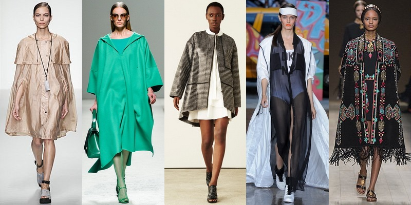 Модные пальто и плащи сезона весна-лето 2014 - фото №8
