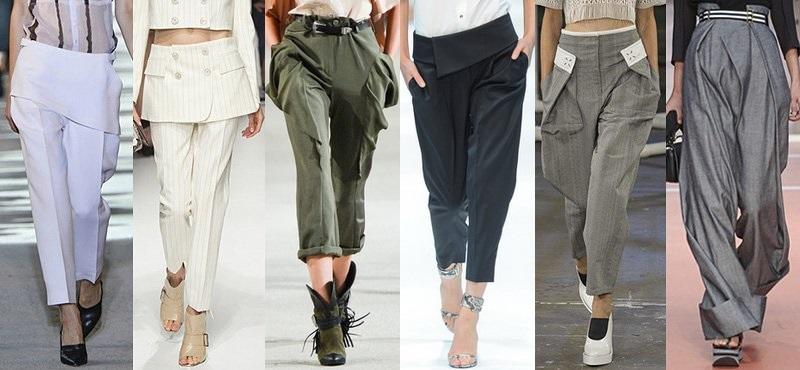 Модные брюки сезона весна-лето 2013-2014 - фото №2