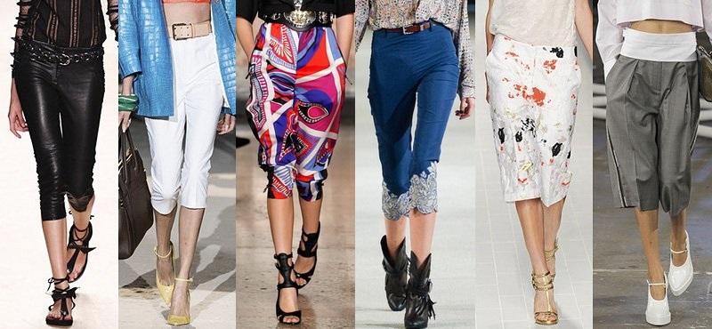 Модные брюки сезона весна-лето 2013-2014 - фото №4