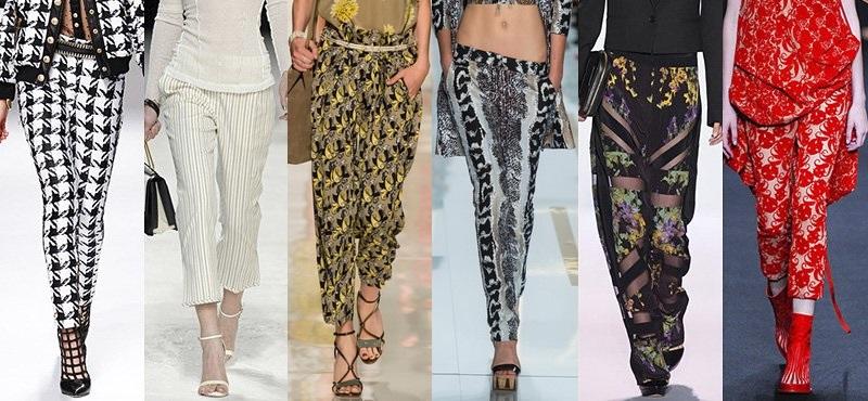 Модные брюки сезона весна-лето 2013-2014 - фото №7