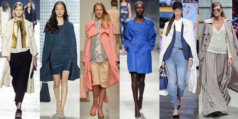 Модные пальто и плащи сезона весна-лето 2014 - фото №6