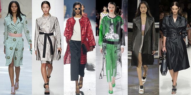 Модные пальто и плащи сезона весна-лето 2014 - фото №2