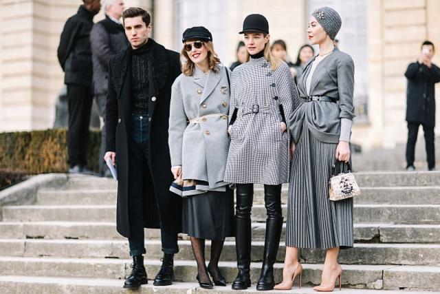 Неделя высокой моды в Париже Christian Dior Couture ss 2017 гости фото