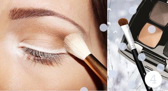 Как сделать снежный макияж глаз: пошаговый фото-урок - фото №5