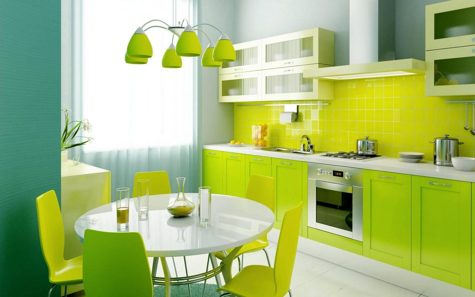 Тренд в интерьере: зеленый цвет - фото №3