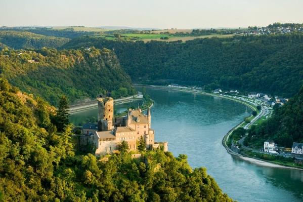 долина Рейна в Германии