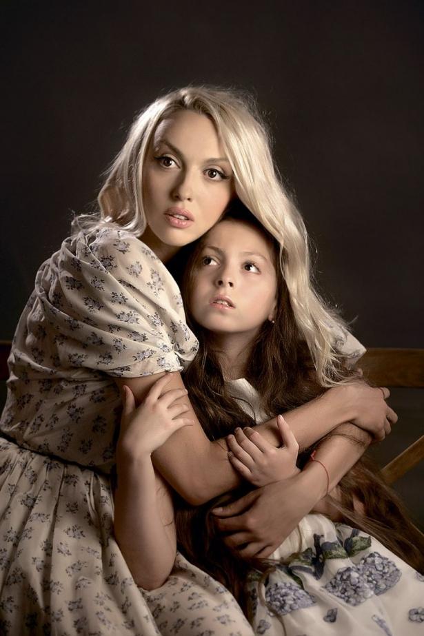 полякова и дочь маша