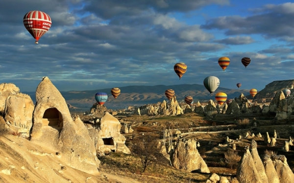 Турция, Каппадокия фото