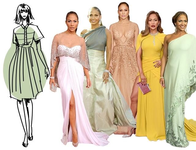 Как выбрать вечернее платье по типу фигуры груша