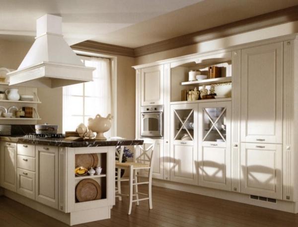 Как оформить интерьер кухни в белом цвете (лофт, модерн, классика, кантри, хай-тек). Фото 55+ - фото №11