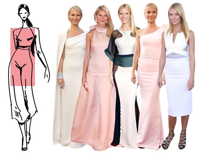 Как выбрать вечернее платье по типу фигуры прямоугольник