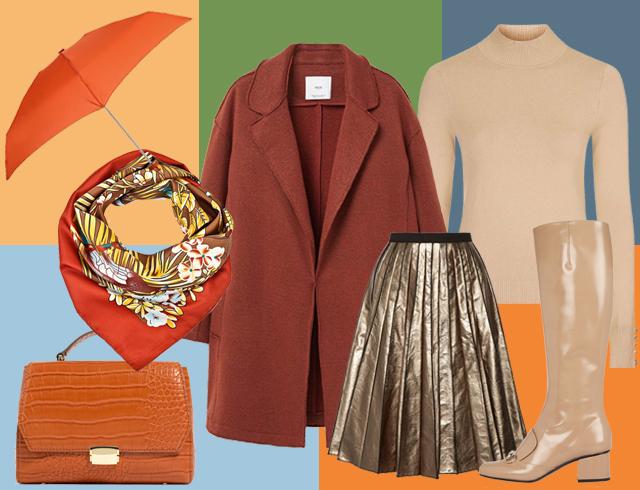 Как одеться в слякоть стильно: 4 готовых образа в резиновых сапогах