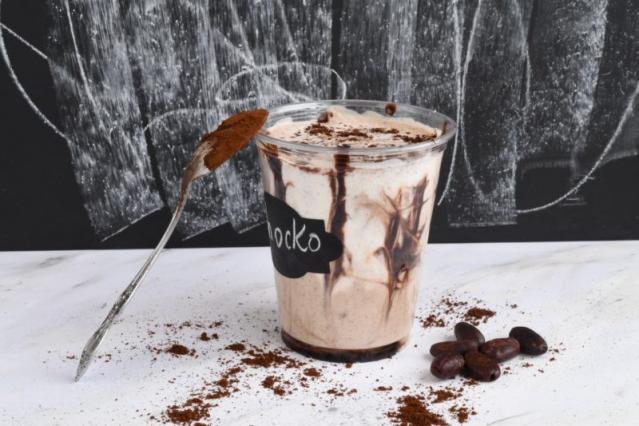 творожный смузи шоколад