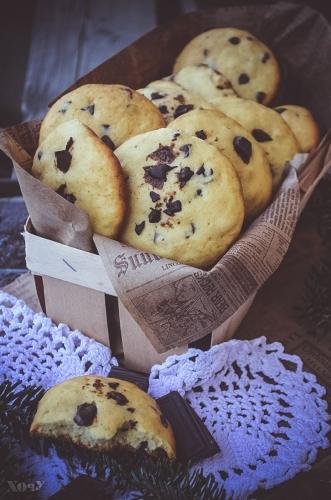 американское печенье десерт