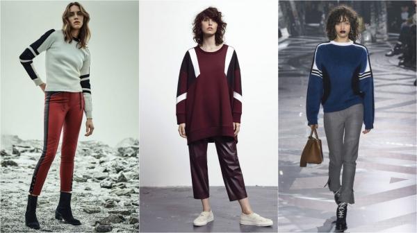 зимний модный свитер
