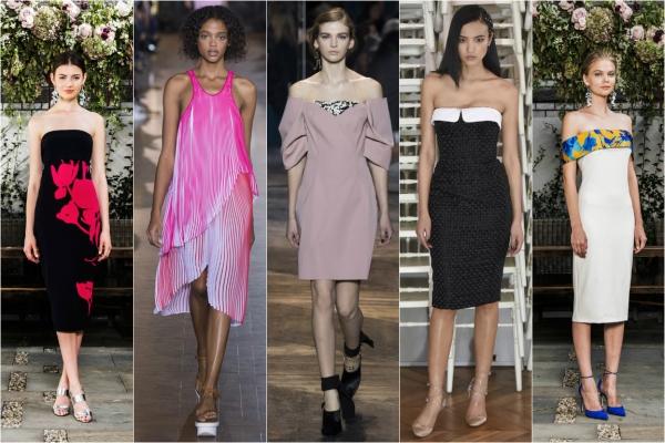 что модно летом 2016 для девушек платья