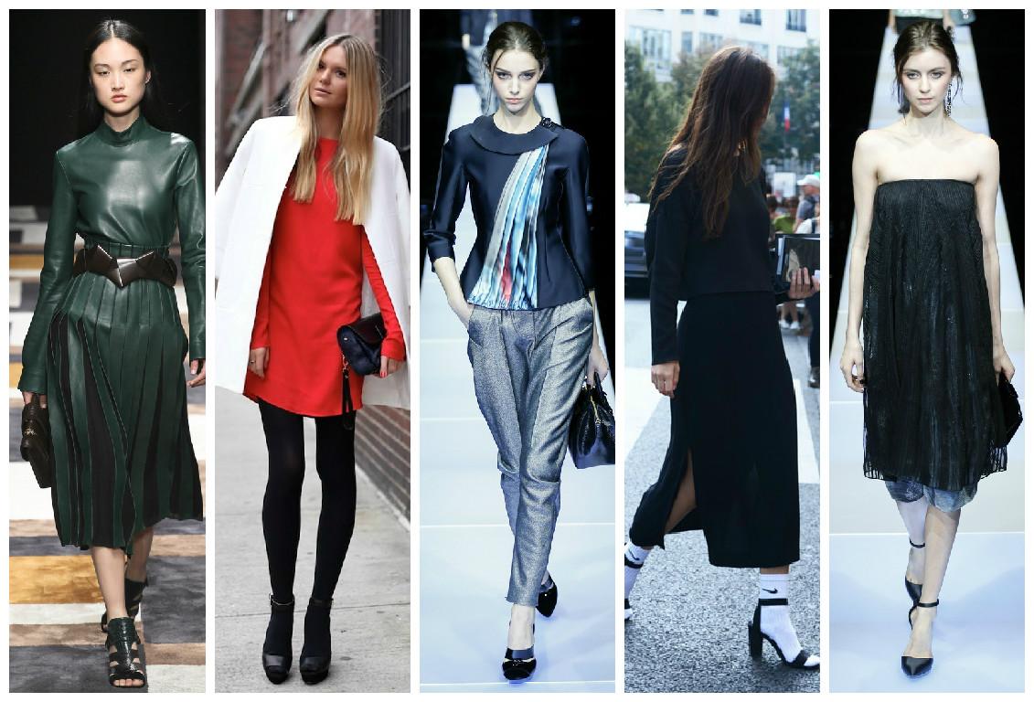 Как носить босоножки осенью 2015