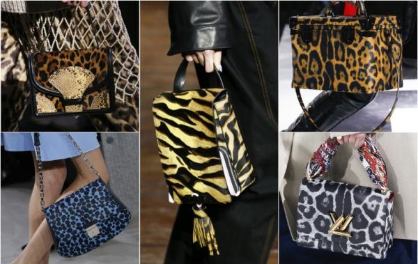сумки с леопардовым принтом 2017 фото