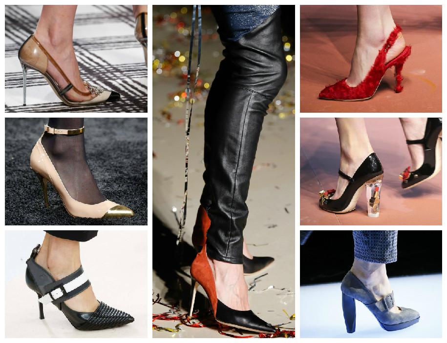 Модная обувь на осенний сезон 2015 модели туфель