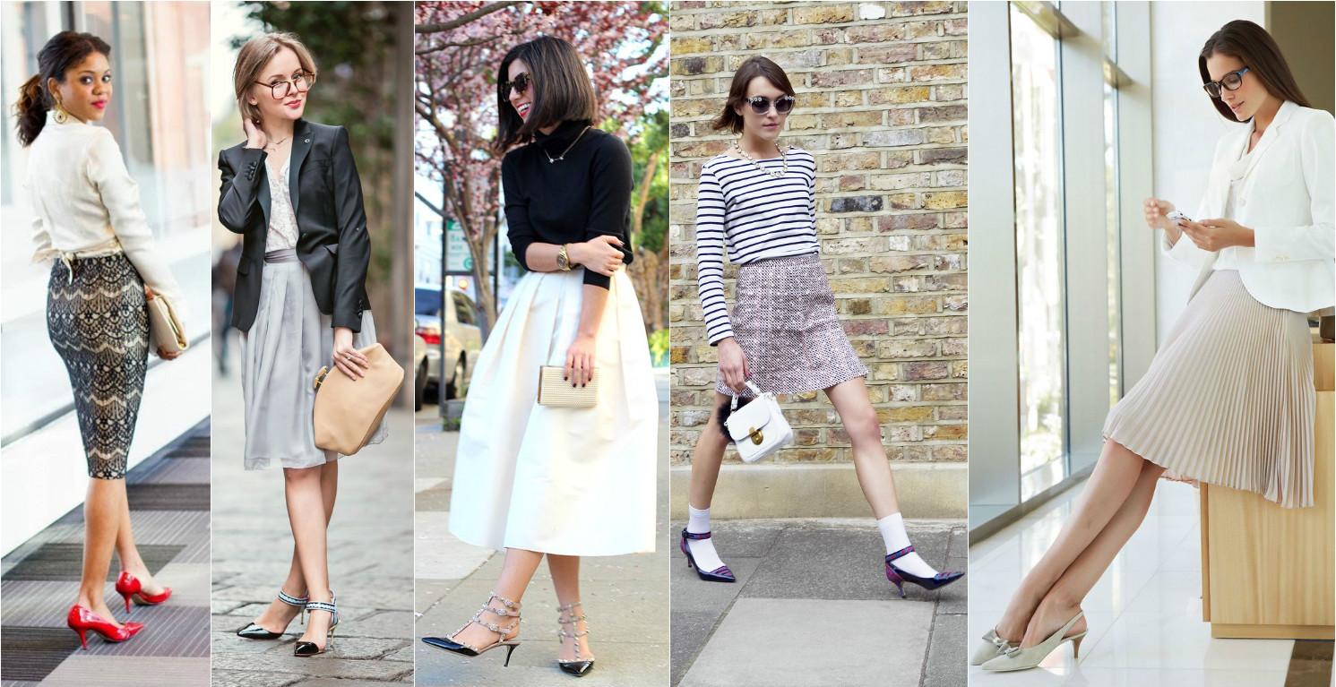 kitten heels как носить