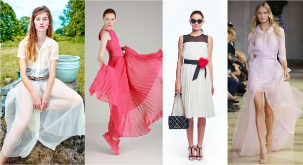 мода на летние платья 2016