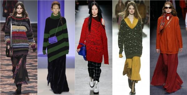 модные свитера на зиму 2016