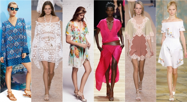 мода лето 2016 год фото платья