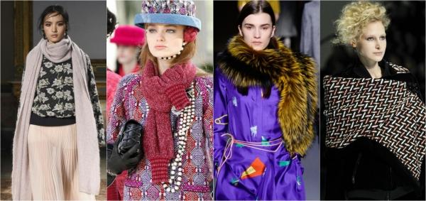модные шарфы 2016