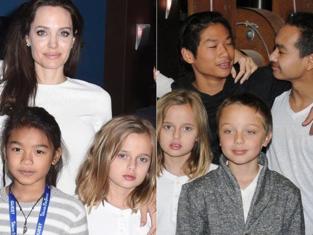 Дочь Джоли И Питта Фото анджелина джоли википедия