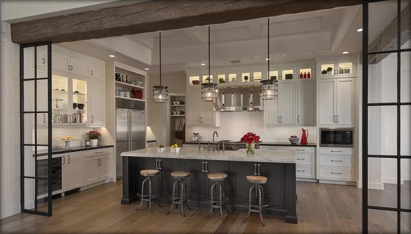 дизайн кухни с барной стойкой фото